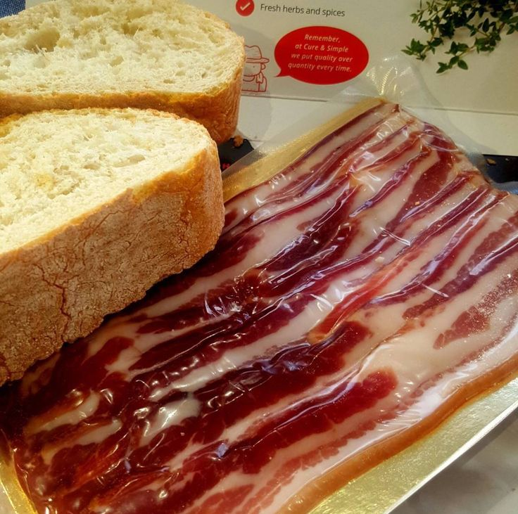 IT'S OFFICIAL - Cure and Simple are now selling streaky #bacon! Order yours today at www.cureandsimple.com