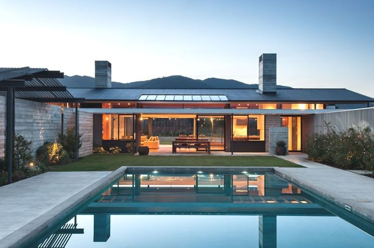 Pin by mauro porrino on casa pinterest for Pool design new zealand