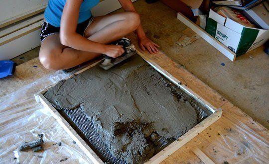 how to make diy concrete countertops diy concrete countertops concrete countertops and diy. Black Bedroom Furniture Sets. Home Design Ideas