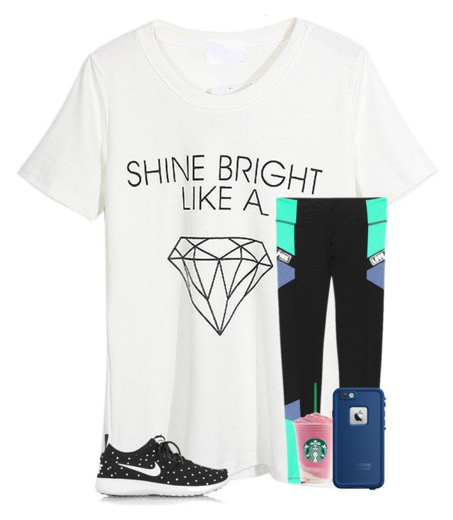 """""""what should I wear today?"""" by smileyavenuegirl ❤ liked on Polyvore featuring Aerie, WithChic, NIKE and LifeProof"""