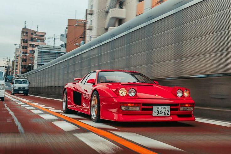 "Mark Riccioni on Instagram: ""The @hills_auto Koenig Specials twin-turbo Testarossa in Tokyo ..."