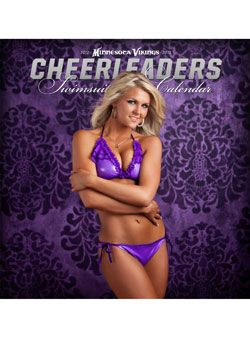 2012-2013 Minnesota Vikings Cheerleaders Swimsuit Calendar