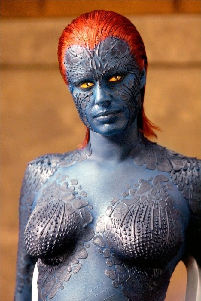 Rebecca Romijn en X-Men: The Last Stand