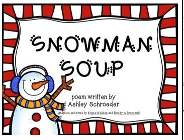 ... for my Students - Linky! :) | Holiday Gifts, Snowman Soup and Student