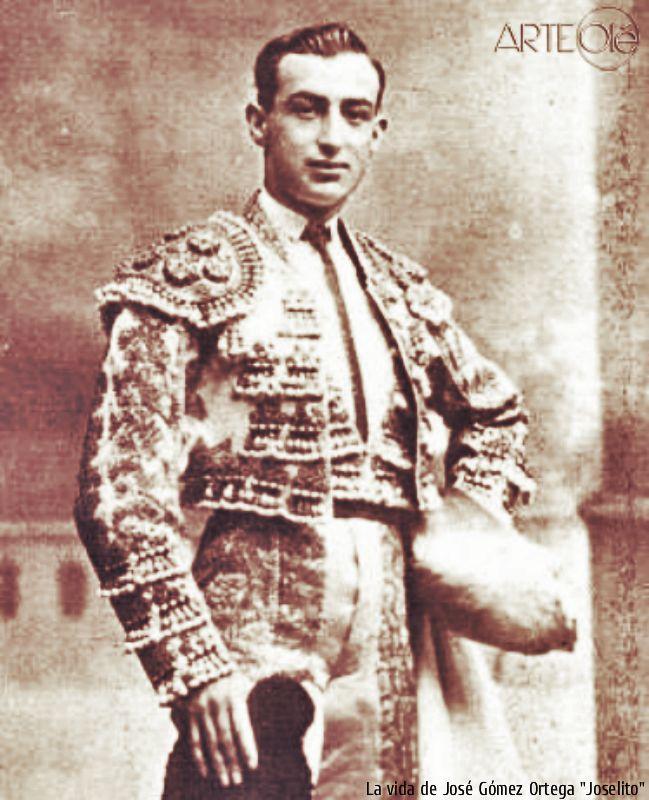La vida de José Gómez Ortega, Joselito. http://arteole.com/en/the-life-of-jose-gomez-ortega-joselito/