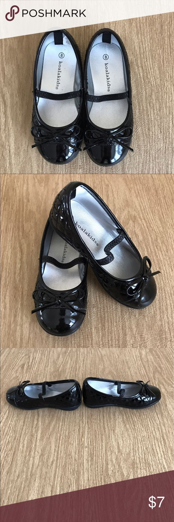 NWOT Black Toddler Dress Shoes New without tags Koala Baby dress shoes.  Perfect for dressing up any outfit. Shoes Dress Shoes