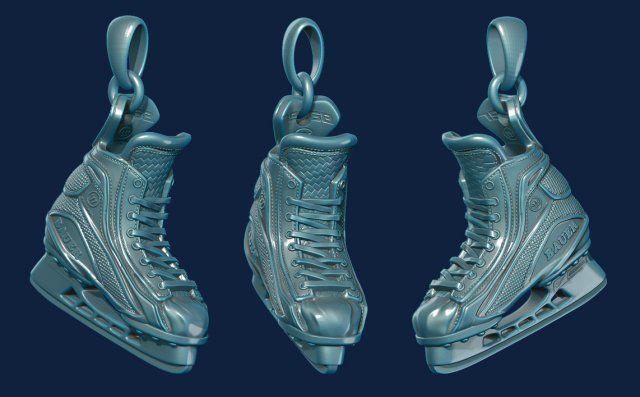 Hockey hockey 3D Model .max .c4d .obj .3ds .fbx .lwo .stl @3DExport.com by Denis2713