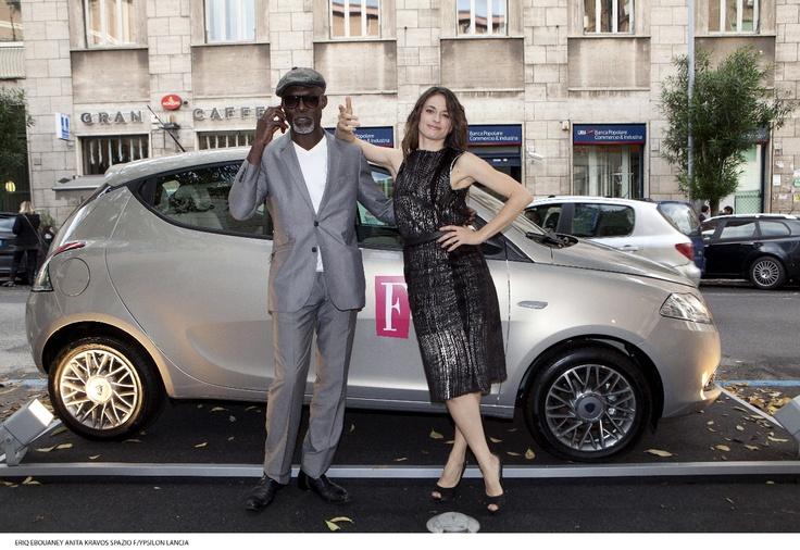 Eriq e Anita  (credits: Gerardo Gaetani d'Aragona)  #italianmoviesilfim