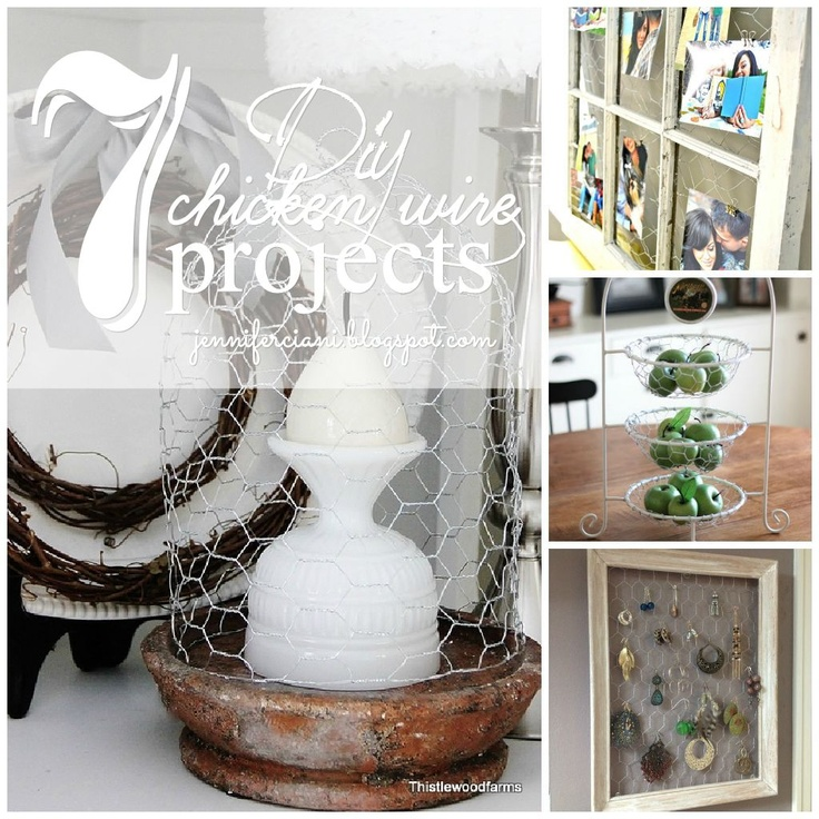 7 simple easy diy chicken wire projects simplyciani for Chicken wire craft ideas