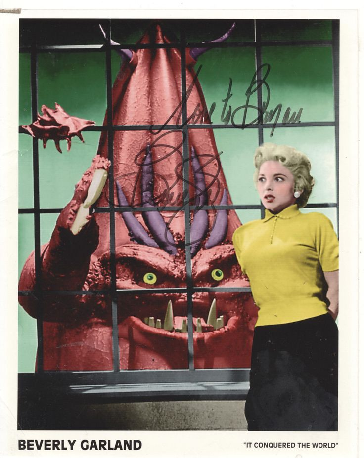 Beverly Garland-IT CONQUERED THE WORLD (1956)