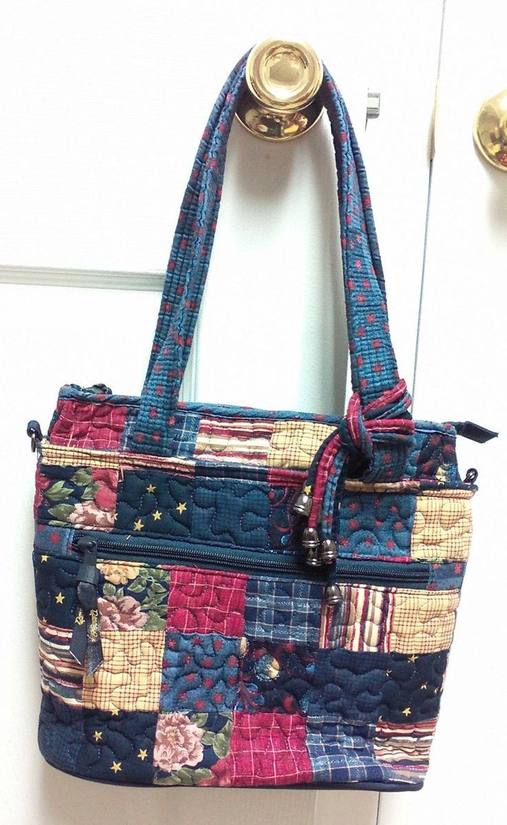 Beautiful Quilted Donna Sharp Handbag by KalidoscopeEyez on Etsy