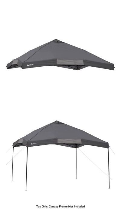 Canopies and Shelters 179011: Ozark Trail Instant 12 X 12 Canopy Top, Dark Gray -> BUY IT NOW ONLY: $46.16 on eBay!