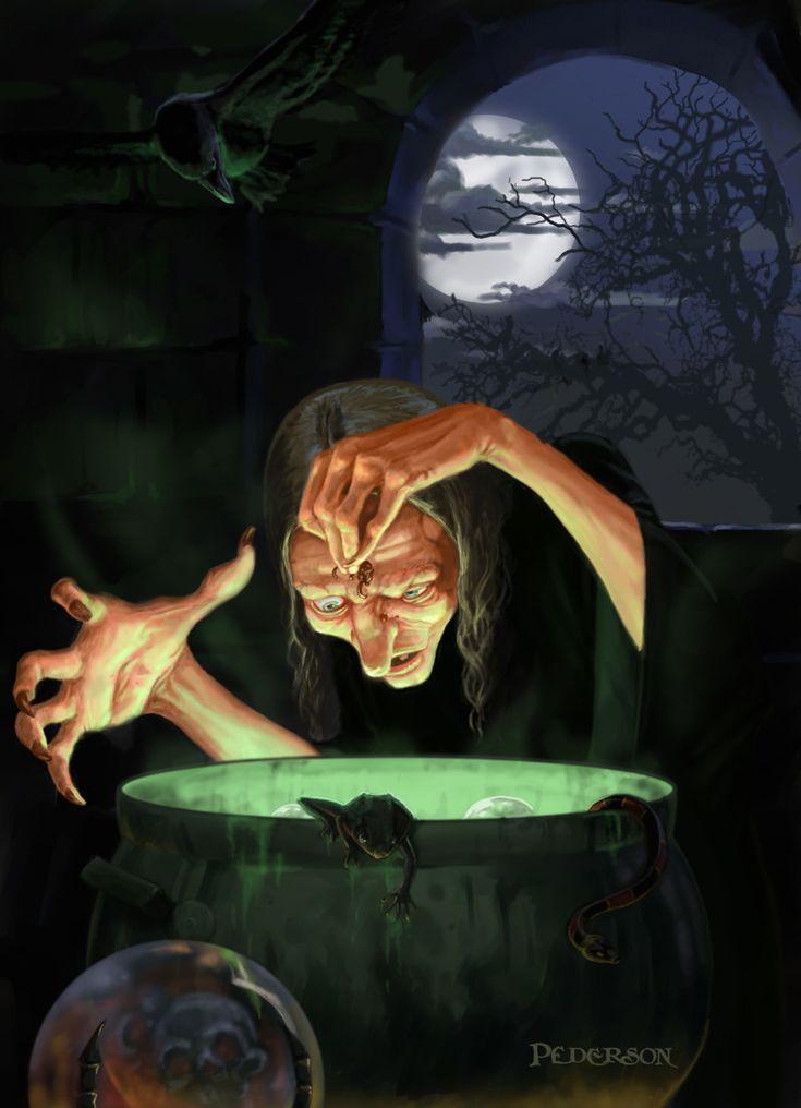 Fantasy - Witch Pederson