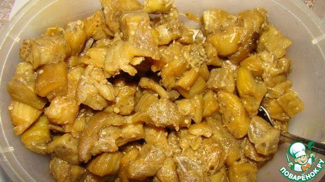Баклажаны под соевым соусом - кулинарный рецепт
