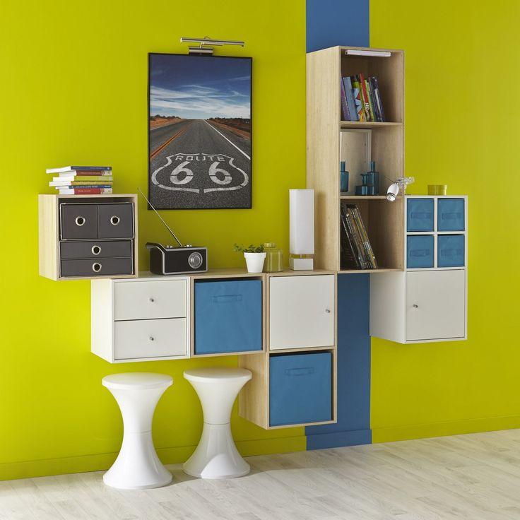 forme etagere pour tv mati re principale panneau de. Black Bedroom Furniture Sets. Home Design Ideas