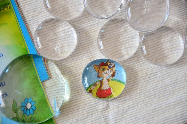 DIY: GLAS-MAGNETE - Do It Yourself - Baby, Kind und Meer