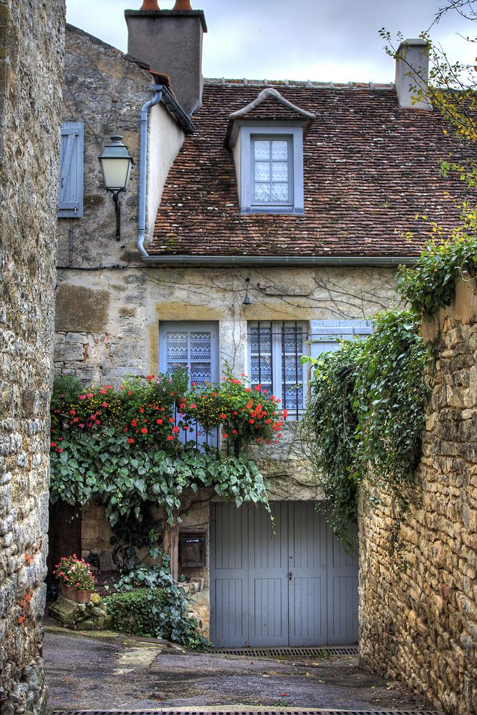 A charming home in Vezelaz, France.