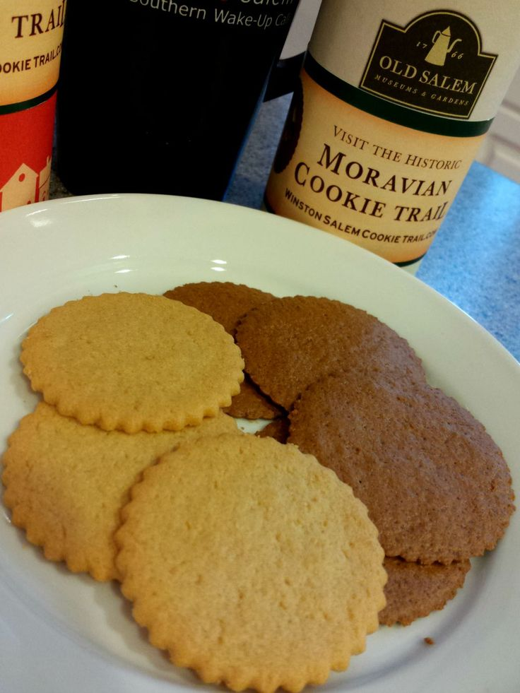 Original Winston-Salem Moravian cookie