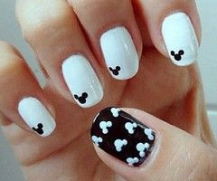 vernis a ongles mickey