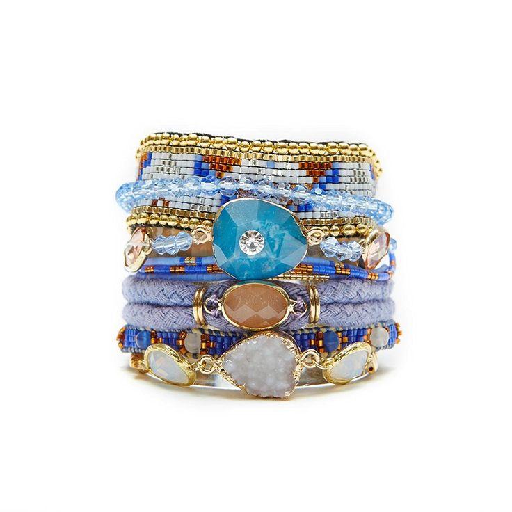 Blaues Hipanema Armband Cobalt: Amazon.de: Schmuck