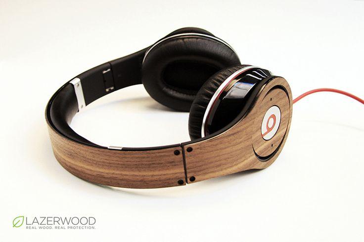 Lazerwood for Beats Studio Headphones: Walnut