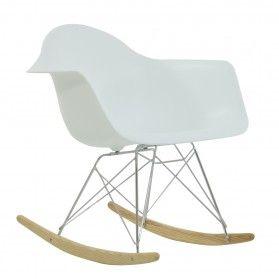 Eames Replica Chair RAR White