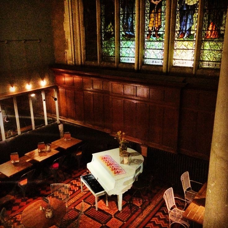 Converted church into a bar, Pitcher and Piano, Nottingham