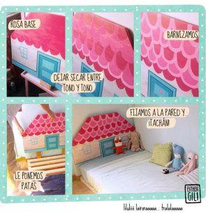 DIY cómo hacer una cama para niños
