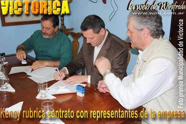 Comuna firmó contrato con empresa que ganó licitación