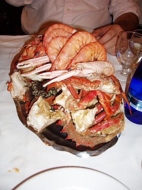 Madrid - Mariscada al Restaurante Ribera do Miño