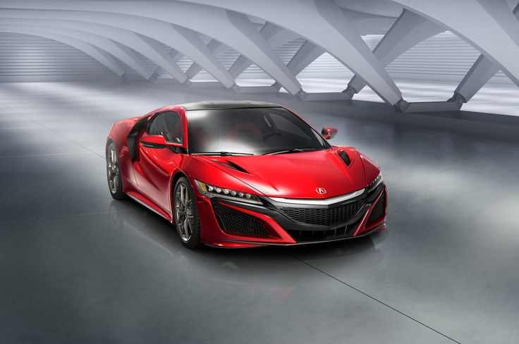 2016 Acura NSX production car released at 2015 #NAIAS.