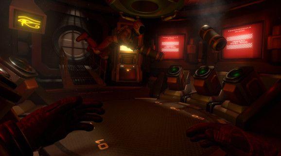 Downward Spiral: Horus Station is 3rd Eye Studios zero-gravity space VR game