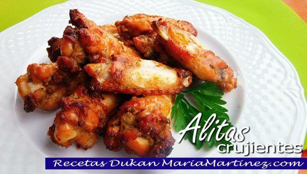 Alitas de Pollo dieta Dukan, fase Ataque {Receta}