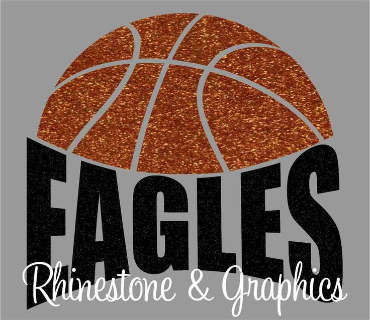 Eagles Basketball Instant download SVG, Eps, DXF Cutting File by RhinestoneandGraphic on Etsy