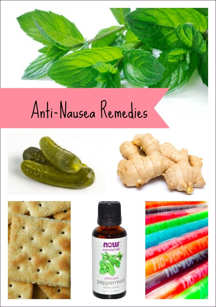 10 Easy At-Home Remedies to Help Ease Nausea #Pinspiration | Mommies With Style