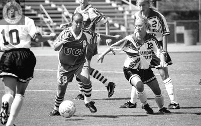 Aztec soccer game, 1998