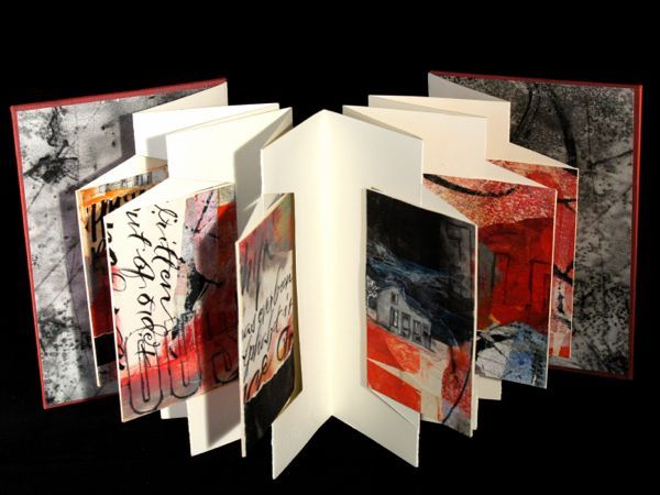 I love this artist's book by Jill Berry! It is gorgeous!!