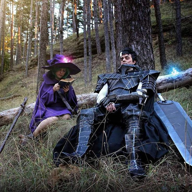 It's weekend Guys! it's time to rest while still remains the protection from the sunlight!  Guts Cosplay by: https://www.facebook.com/ExerbrangWorks/ Schierke Cosplay by: https://www.facebook.com/anffeithprojects/ Photography & edition:  https://www.facebook.com/NekoSandraCosplay/  #berserk #berserker #cosplay #props #guts #gatsu #armor #blackswordsman #costume #cosplayer #dragonslayer #leatherarmor #leather #schierke #berserkmusou #miura #metalcosplay #metalarm #armory #cosplaying…