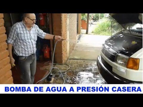 MINI BOMBA DE AGUA CASERA CON MOTOR ELÉCTRICO POTENTE.