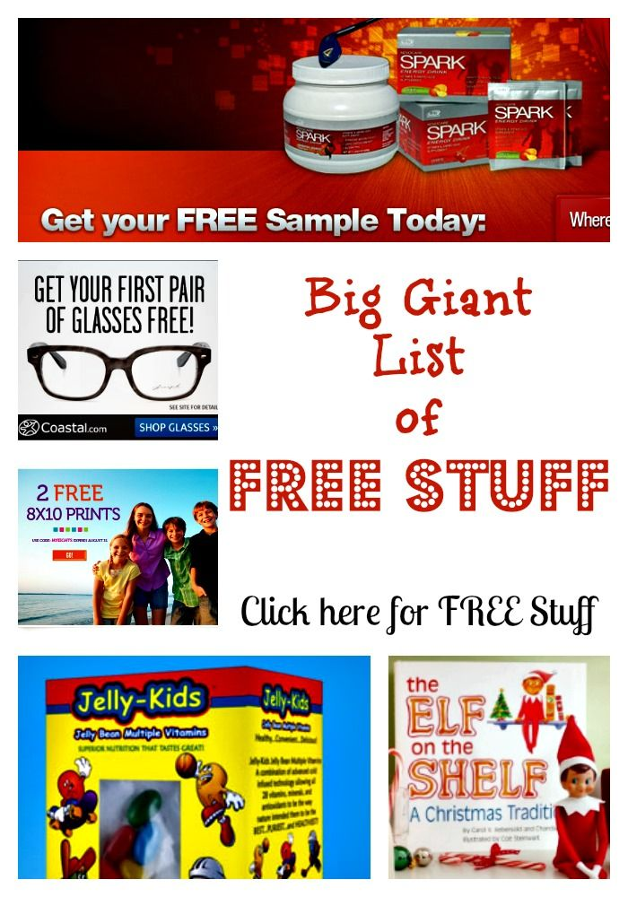 Tons of freebies available: http://www.familyfriendlyfrugality.com/big-giant-list-of-free-stuff/