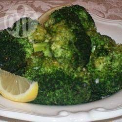 Photo de recette : Brocoli grillé à l'ail et au citron