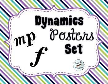 Dynamics Poster Set - Woodland Critters Theme