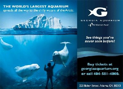 Georgia Aquarium: Ticket Discounts  Reminder Free Entry on your birthday. If you bring your ID or a copy of your birth certificate, you'll get a free Total Ticket to the Georgia Aquarium on your birthday .   You can save a bit on Non-Seasonal & Seasonal Georgia Aquarium tickets o offer from Gas South. Get tickets as low as $25 use this link for discounts: http wwwgeorgiaaquarium.org/acb/stores/1/newclubfishlink.aspx?Conv_Id=373  Use this link thanks to Groupon get two tickets for  $49 for…