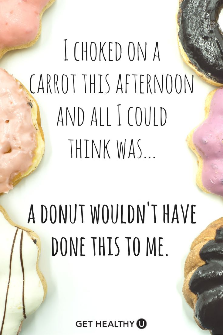 SO true! You don't have to have a flavorless life just to eat healthy--click here to find our delicious, healthy dessert recipes!