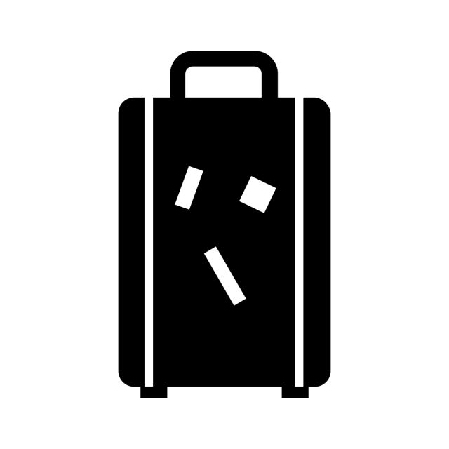 Suitcase Vacation Icon Suitcase Icons Vacation Icons Silhouettes Png And Vector With Transparent Background For Free Download Painting Accessories Transparent Background Prints For Sale