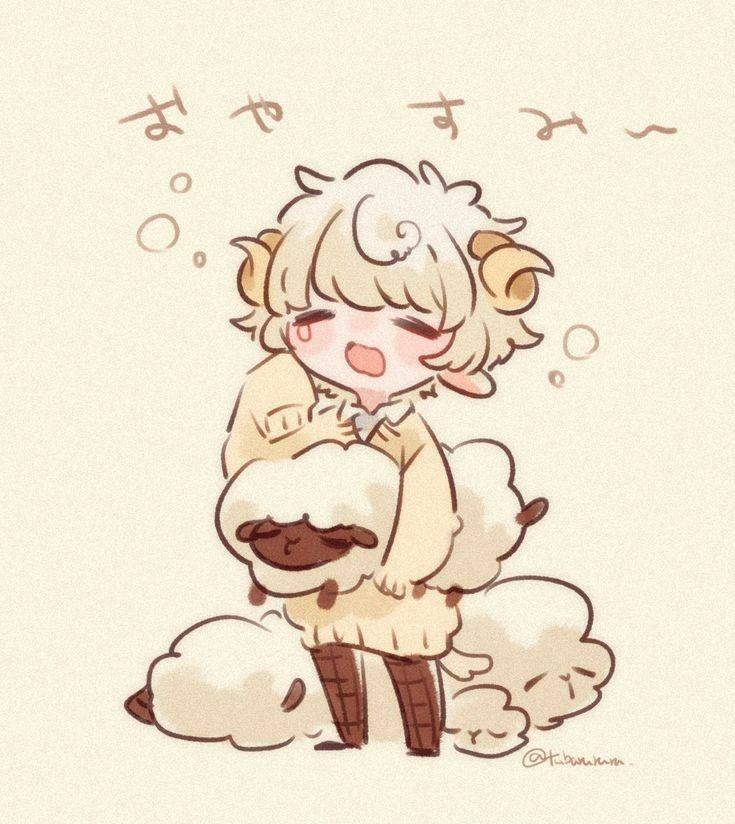Картинки аниме овечка