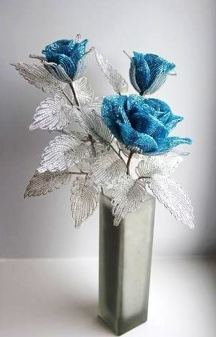 Beautiful flower decor perfect for cold winter blues.
