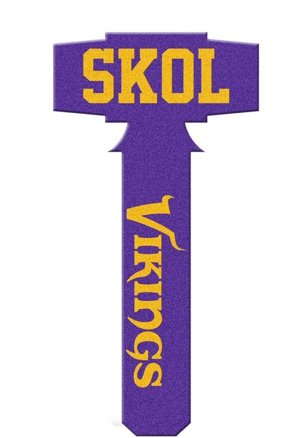 520308d7 Minnesota Vikings Foam Mallet - SKOL VIKINGS | Stuff to Buy ...