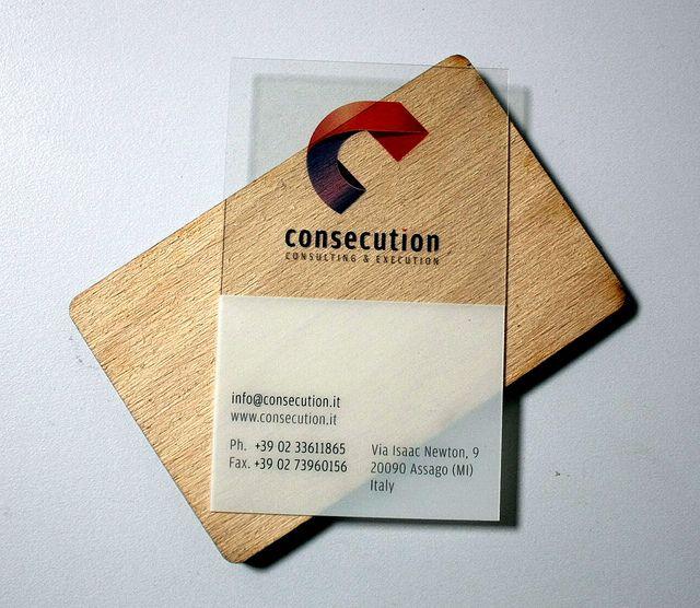 transparent business cards   Flickr: Intercambio de fotos