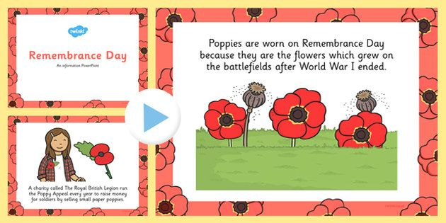Remembrance Day Information PowerPoint - Perfect for whole-class teaching, this PowerPoint features some information to help support your teaching on Remembrance Day. The resource includes information on when Remembrance Day is, why it's held this day, what people remember, how they remember and more.